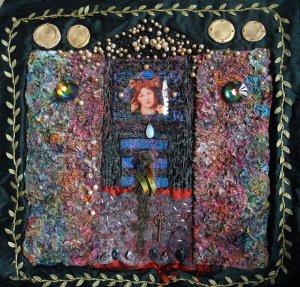 The Pre-Raphaelite Panel, Body Shop Quilt