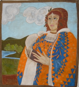 Ann Rippin's Painted Madonna Quilt, (2010-2011)