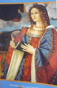 Anonymous Neapolitan artist, c.1510-20.  Madonna della Carita (detail).