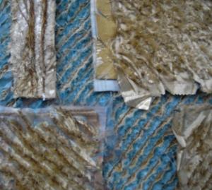 Slashed fabric sample 2