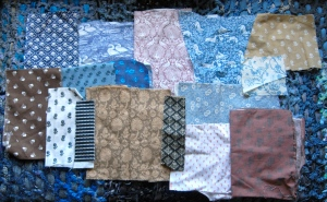 Selection of Trish's Laura Ashley fabrics
