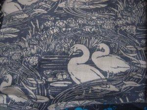Laura Ashley Swan fabric
