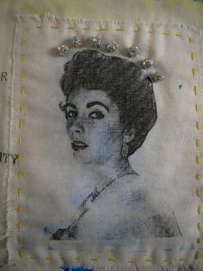 Elizabeth Taylor Quilt, detail