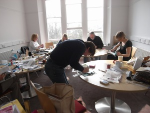 Vala bookmaking workshop, March 2011
