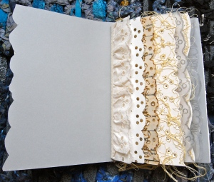 Lace Artists Book - Holly Cooper