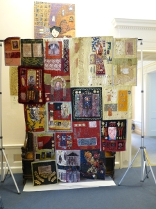 My grate friend, Aiison's photo of my quilt