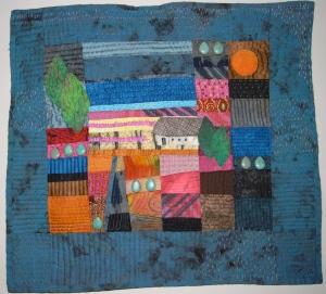 My Ineke Berlyn quilt
