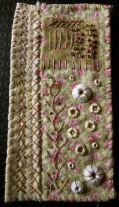 Laura Ashley sample mini quilt 2