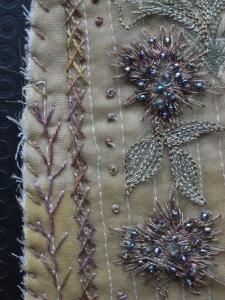 Laura Ashley mini quilt 4 - detail