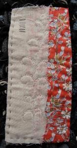 Laura Ashley mini quilt no 7