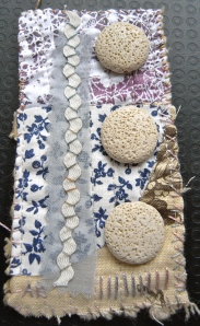 Big bead mini quilt
