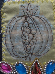 Pomegranate quilting