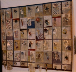 Foundling Museum Quilt, Festival of Quilts, 2011