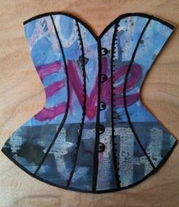 Eve paper corset