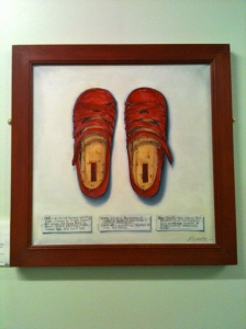 Red Shoes by Mariette Voke