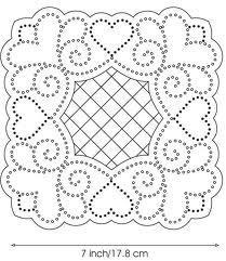 Sandie Lush cushion pattern