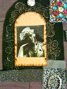 Death quilt panel, first attempt