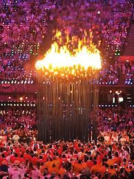 Olympic Cauldron: beautiful and functional