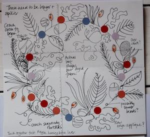 Wreath sketch